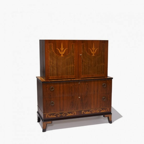 Michael hampton swedish art deco furniture for Examples of art deco furniture