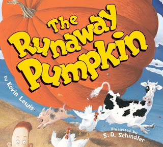 bookcover of The Runaway Pumpkin by Kevin Lewis