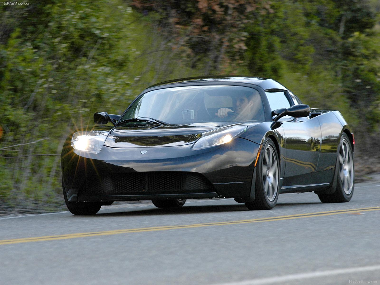 Hình ảnh xe điện Tesla Roadster 2008 & nội ngoại thất