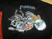 la camiseta de los JUDAS de Paula por delante