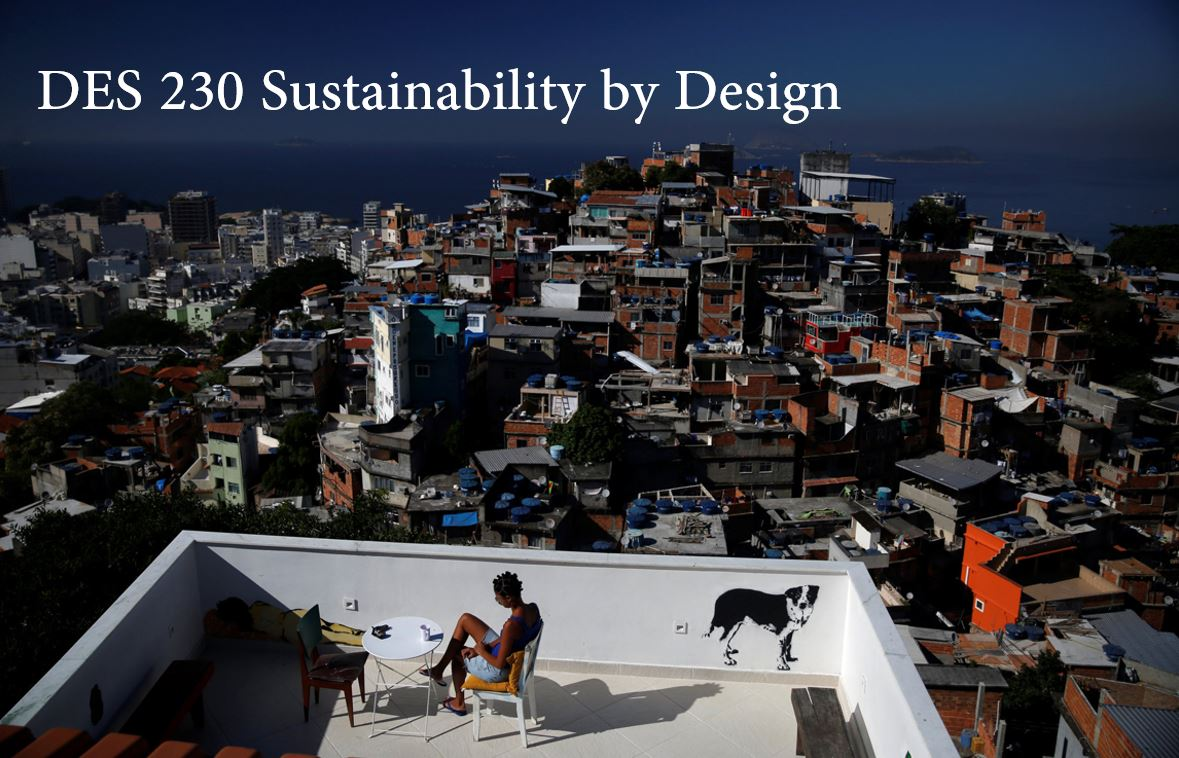 DES 230 Sustainability by Design.