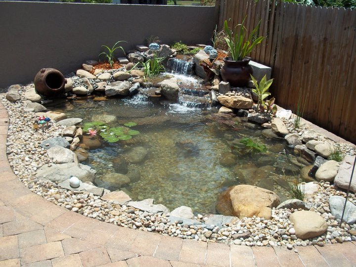 Jim 39 s pond do you have enough room for a water feature at for How much does it cost to build a fishing pond
