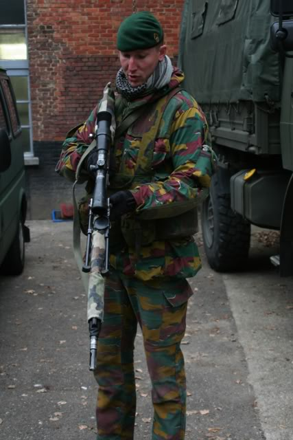 world military  police forces belgium