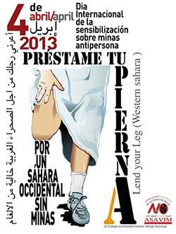 Día Internacional de la sensibilización sobre minas antipersonas
