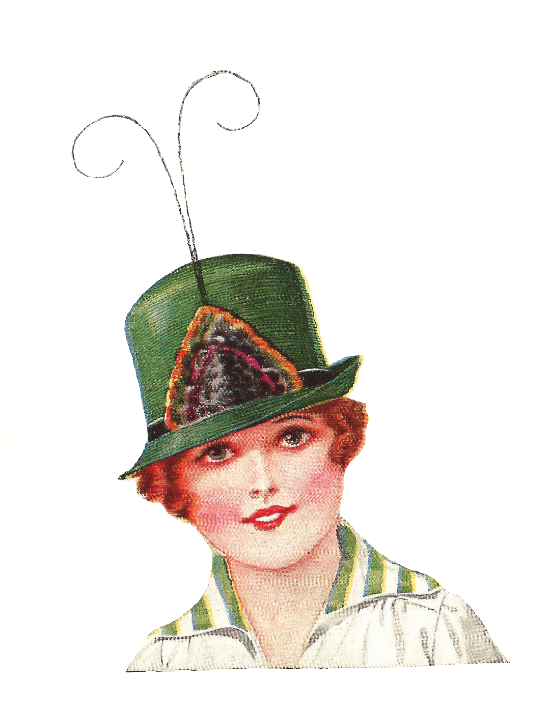 vintage hat clipart - photo #49