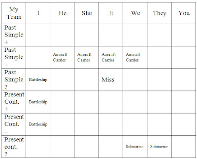 war ships game grid example