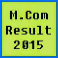 PU Lahore MCom Result 2016