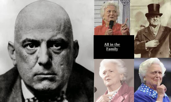 BARBARA BUSH Y ALEISTER CROWLEY Aleister_and_Barbara