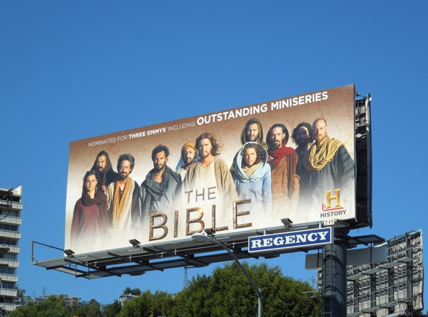 Bible Outstanding Miniseries Emmy 2013 billboard