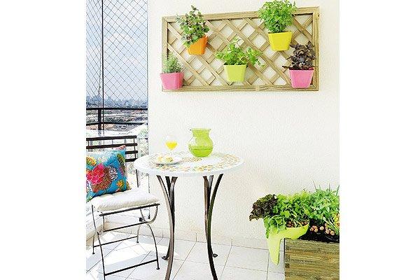 decoracao e interiores:Varanda Pequena De Jardim