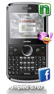 Nexian Triple G G707-8