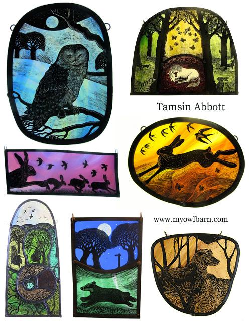 Glass Artist Tamsin Abbott