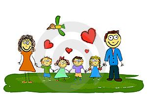 My Family Cartoon