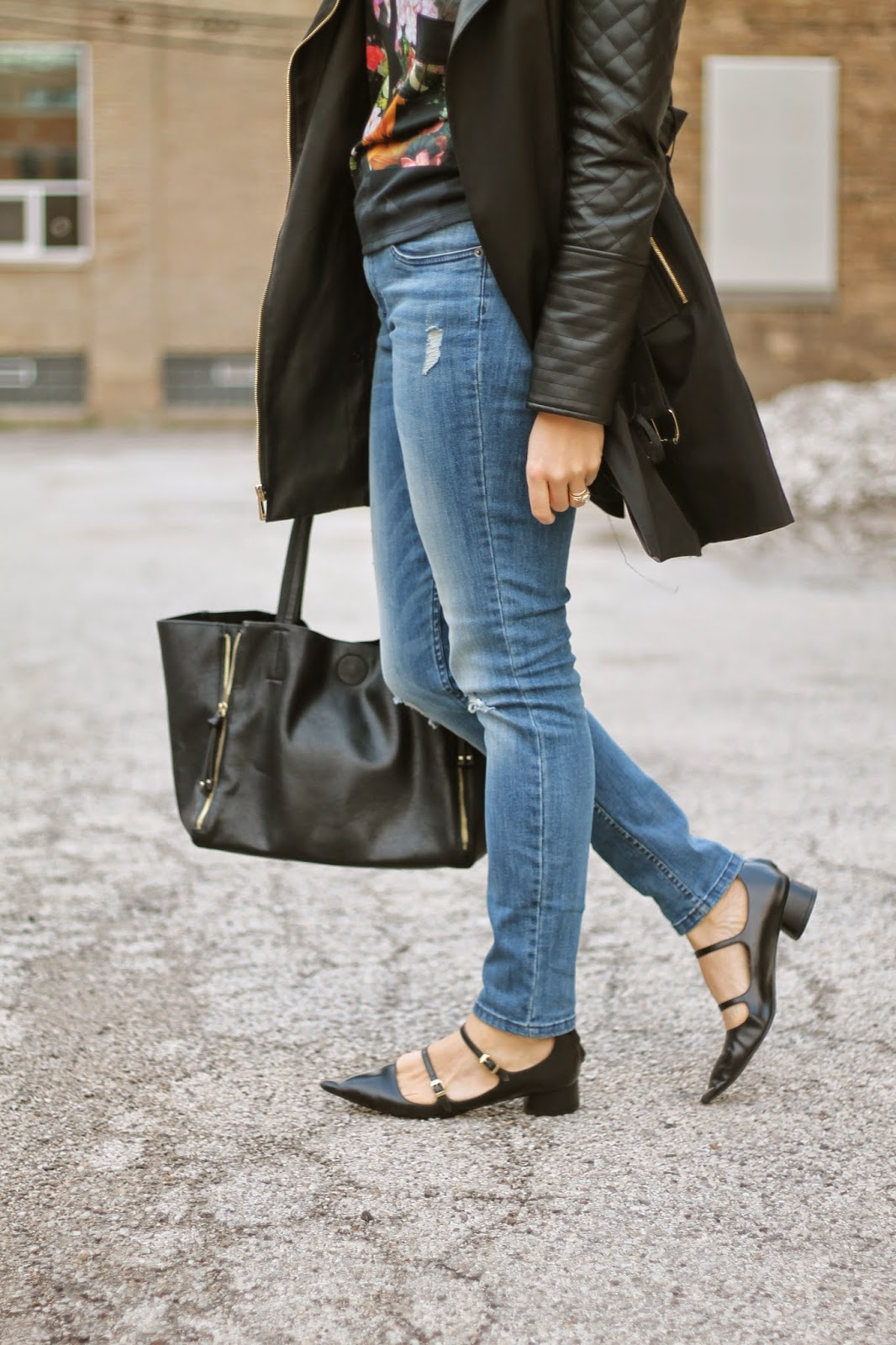 zara, pointed, black, buckle, shoes