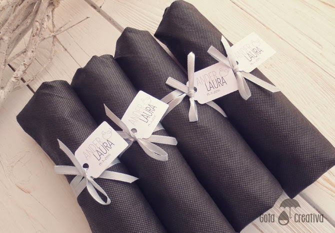 detalle de boda mujeres bolsa gotacreativa
