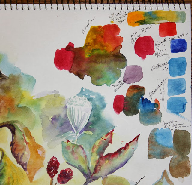 Using Your Sketchbook to Jump-start Your Painting