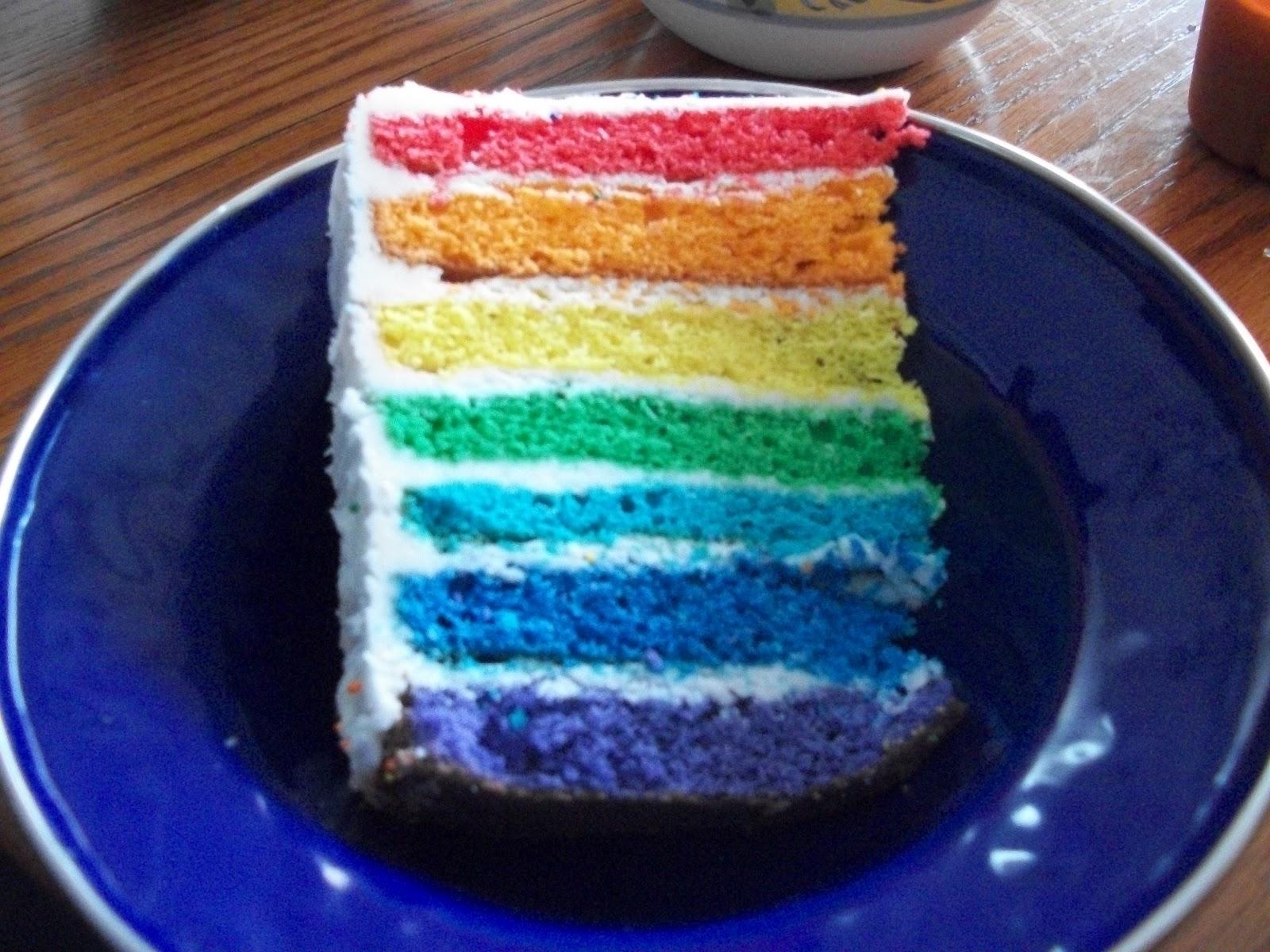 CulinaryAdventure: Amazing Rainbow Cake - photo#22
