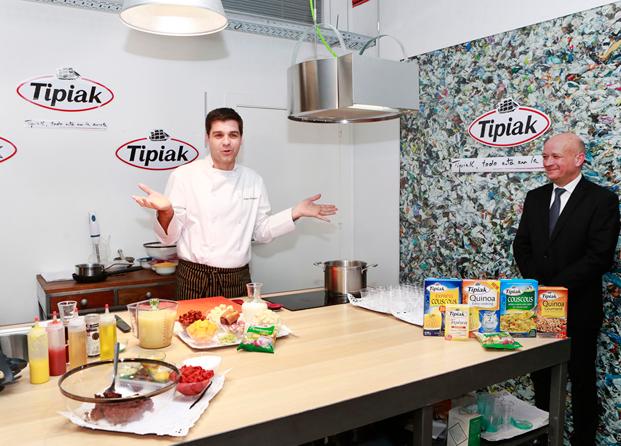 Esta Primavera cuidate con Tipiak y las recetas de Sergio Fernández