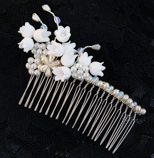 Petals And Jules Lily Of The Valley Hair Slides
