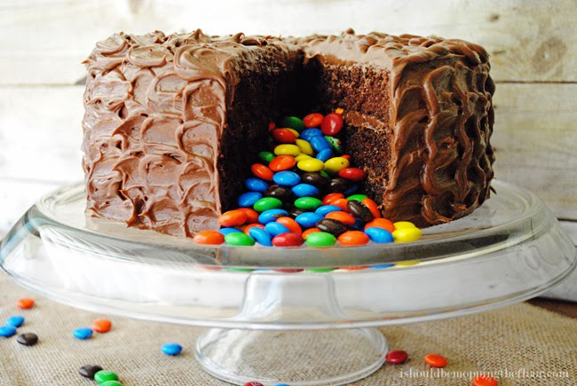 Cake With M Ms Inside