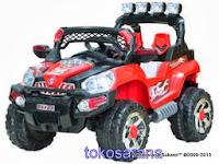 Mobil Mainan Aki Pliko Pk8528 Jeep Double Power