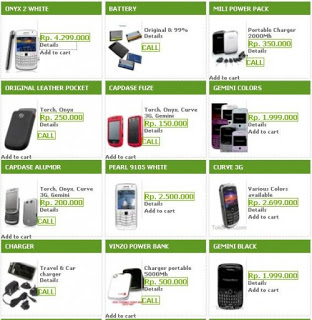 Spesifikasi dan Daftar Harga Blackberry Terbaru 2012
