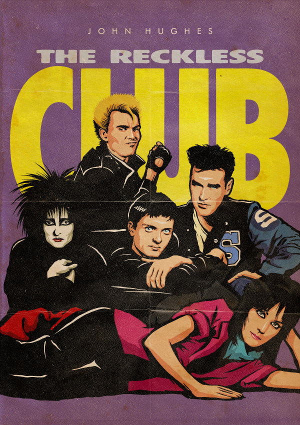 John Hughes' The Reckless Club Project | El club de los cinco segun Butcher Billy en LasMilVidas