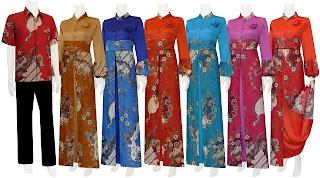 Foto Baju Batik Solo Muslim