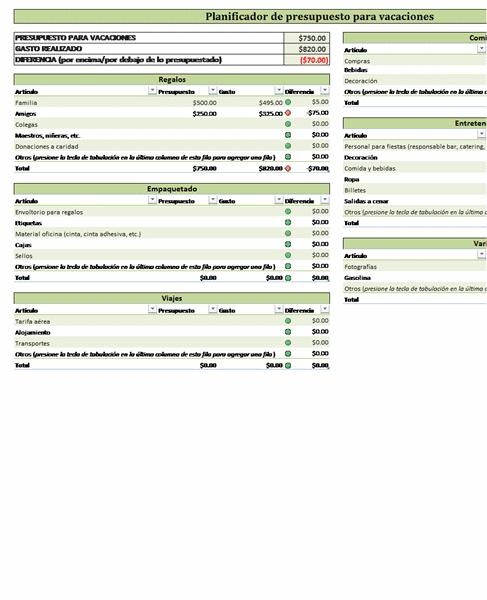 ... para vacaciones , para Excel 2007 o superior, haciendo click en el