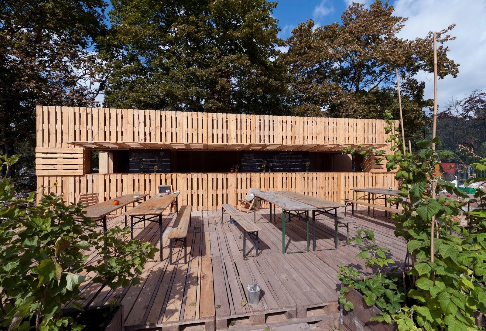 Kitchen Garden Cafe Raumstararchitekten A F A S I A