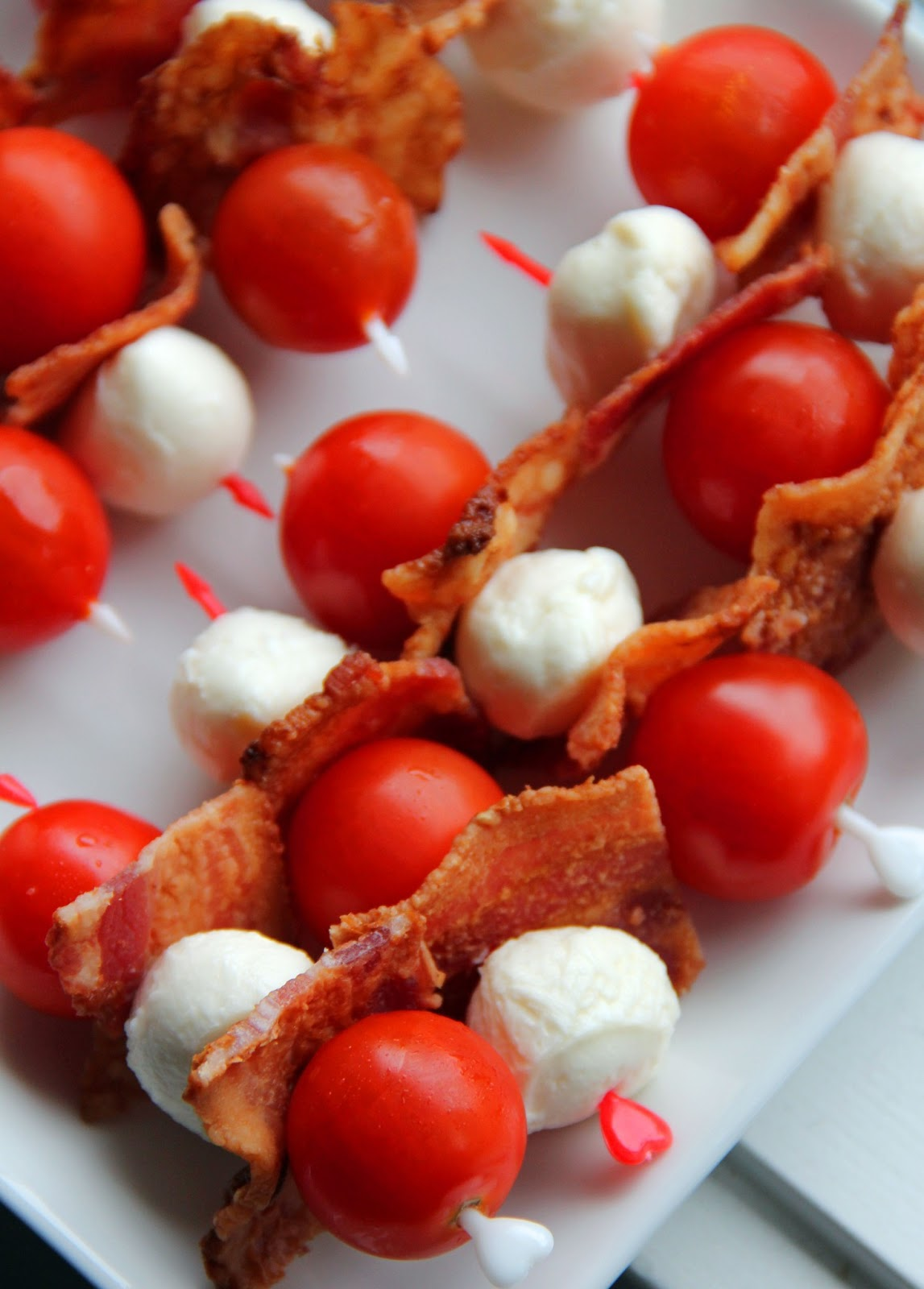 Jo And Sue Canadian Red White Amp Bacon Skewers And A