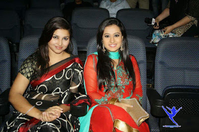 Bangladeshi Film Actress Purnima with Jenny