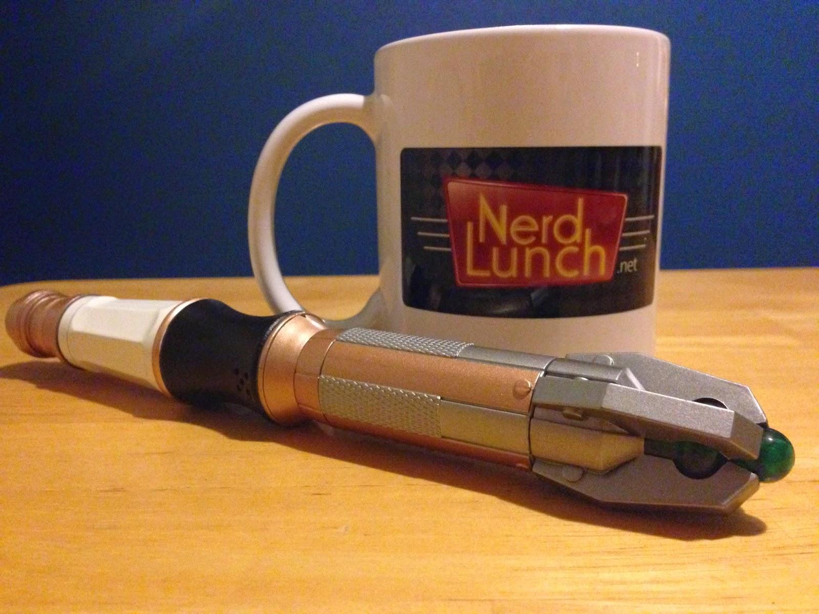 Nerd Lunch sonic screwdriver