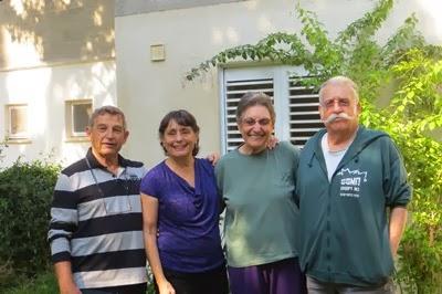 יגאל ודינה מספרים על הבית בגבולות