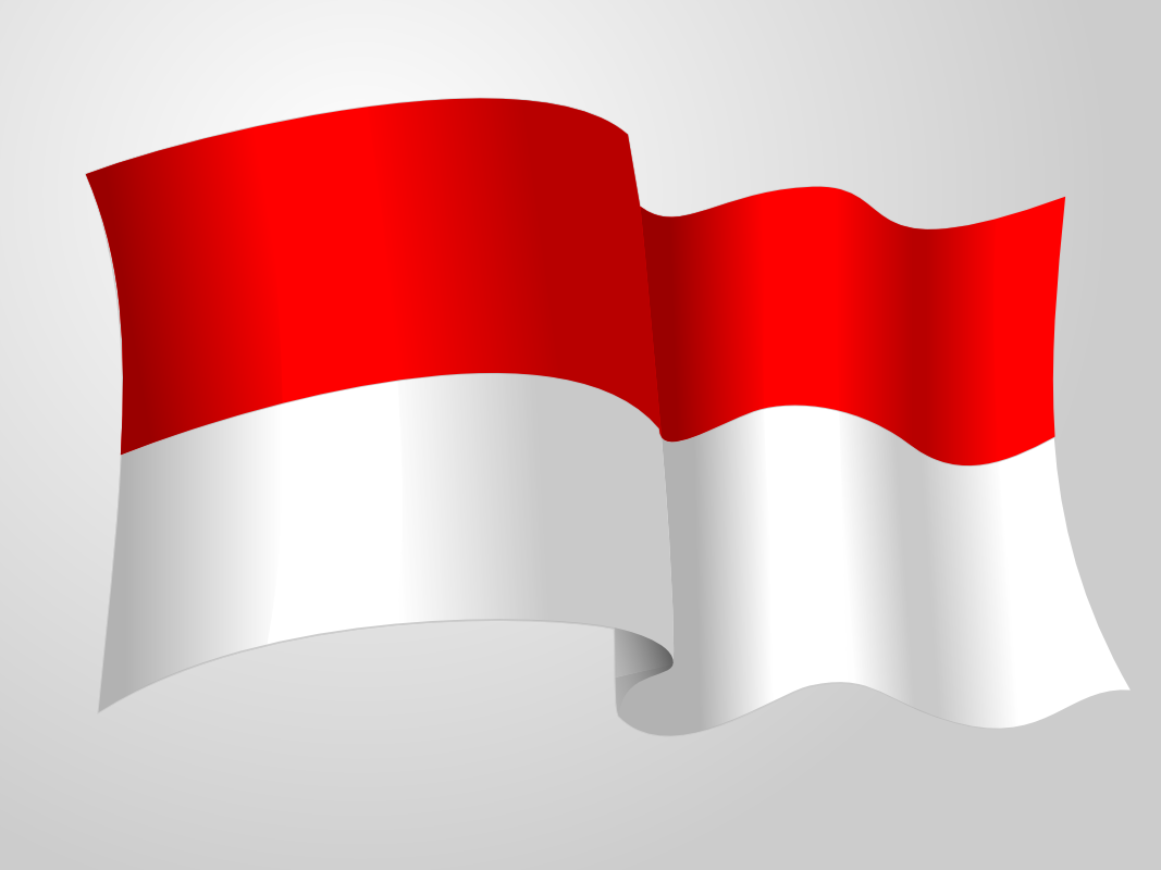 Bendera Merah Putih Indonesia