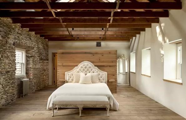 Un faro de ideas casa de campo en filadelfia - Dinteles de madera ...