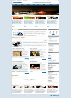 Share template JV Jaxar - Joomla 1.5
