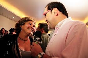 Antonio Carlos Gomes e Cíntia Abravanel