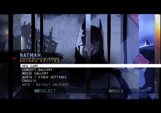 Batman Arkham Origins Blackgate PC Games
