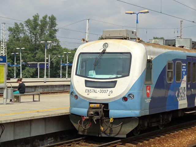 EN57AL-3007ra Województwo Lubelskie.