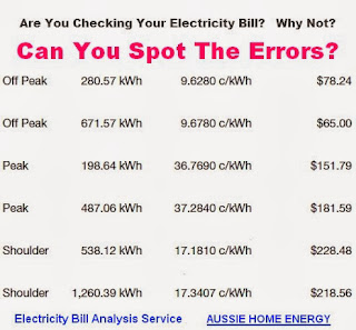 Electricity Bill Errors