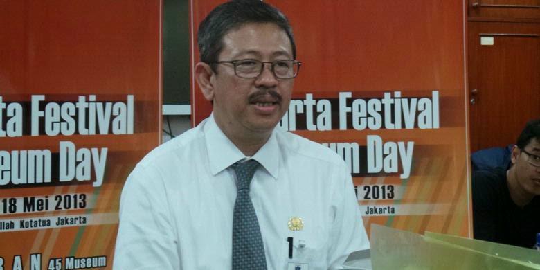 Kepala Dinas Pariwisata dan Kebudayaan DKI Arie Budhiman
