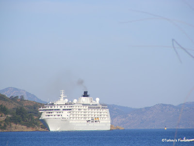 Fethiye Turkey cruise ship