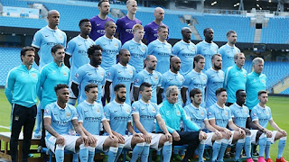 Squad Manchester City