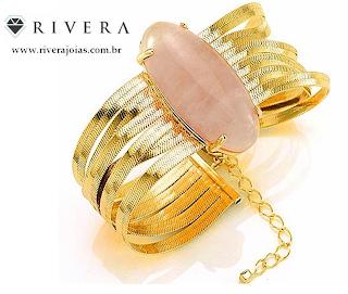 bracelete com pedra