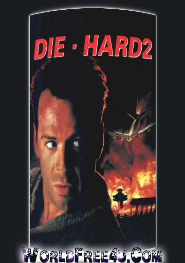 Poster Of Die Hard 2 (1990) In Hindi English Dual Audio 300MB Compressed Small Size Pc Movie Free Download Only At worldfree4u.com
