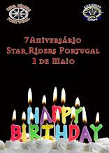 7º aniversário Star Riders Portugal