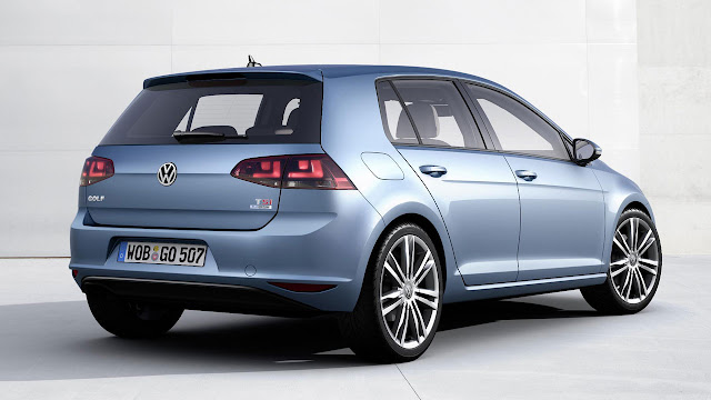 Seventh Generation Volkswagen Golf TSI back