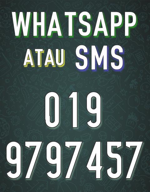 Hubungi Saya ( WASSAP utk respon cepat )