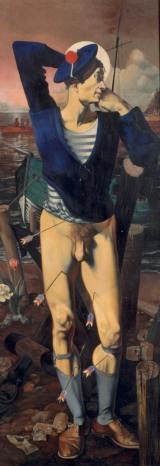 1786_Alfred_Courmes__Heiliger_Sebastian.
